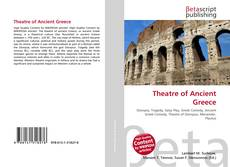 Bookcover of Theatre of Ancient Greece