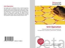 Buchcover von Unit Operation