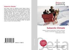 Capa do livro de Subarctic Climate