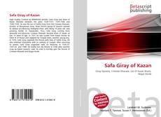 Bookcover of Safa Giray of Kazan