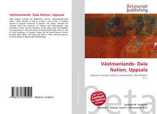Buchcover von Västmanlands- Dala Nation, Uppsala