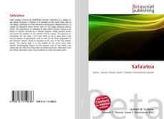 Bookcover of Safa''atoa