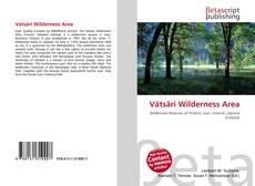 Couverture de Vätsäri Wilderness Area