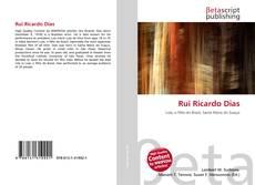 Portada del libro de Rui Ricardo Dias