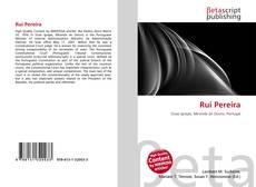 Capa do livro de Rui Pereira