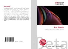 Bookcover of Rui Nereu
