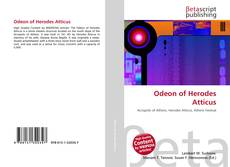 Bookcover of Odeon of Herodes Atticus