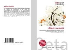 Обложка Adonis vernalis