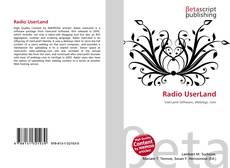 Buchcover von Radio UserLand
