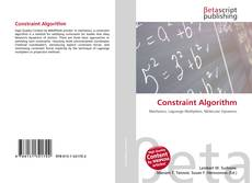 Bookcover of Constraint Algorithm