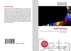 Capa do livro de Todd Herzog