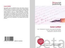 Borítókép a  Love Letter - hoz