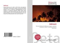 Bookcover of Admoni