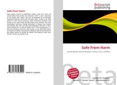 Bookcover of Safe From Harm