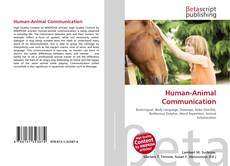 Bookcover of Human-Animal Communication