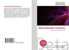 Bookcover of Radio Republik Indonesia