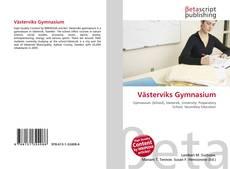 Portada del libro de Västerviks Gymnasium