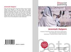 Bookcover of Jeremiah Halpern