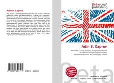 Adin B. Capron kitap kapağı