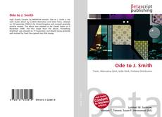 Bookcover of Ode to J. Smith