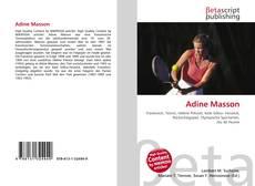 Portada del libro de Adine Masson
