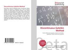 Copertina di Discontinuous Galerkin Method