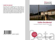 Обложка Vallès Occidental