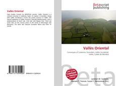 Обложка Vallès Oriental
