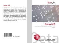 Bookcover of Energy Drift