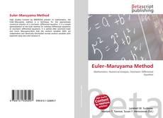 Euler–Maruyama Method kitap kapağı