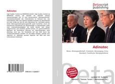 Bookcover of Adinotec