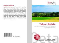 Bookcover of Valley of Rephaim