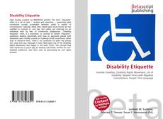 Bookcover of Disability Etiquette
