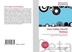 Yarra Valley Tourist Railway kitap kapağı