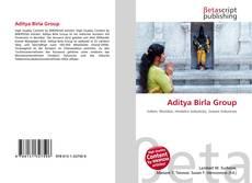 Portada del libro de Aditya Birla Group
