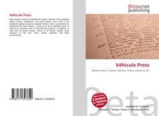 Buchcover von Véhicule Press