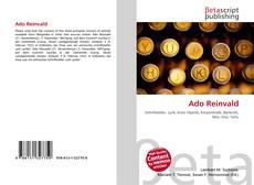 Buchcover von Ado Reinvald