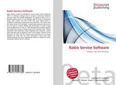 Portada del libro de Radio Service Software