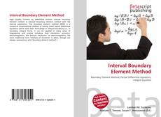 Bookcover of Interval Boundary Element Method
