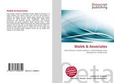 Buchcover von Walek & Associates