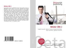 Mister (Mr.) kitap kapağı