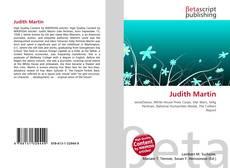 Bookcover of Judith Martin