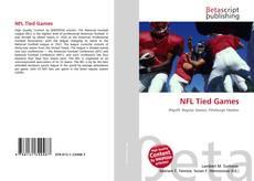 NFL Tied Games kitap kapağı
