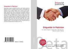 Bookcover of Etiquette in Pakistan
