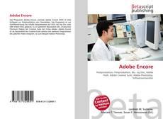 Buchcover von Adobe Encore