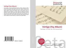 Vértigo (Fey Album)的封面