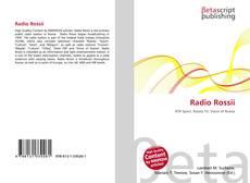 Bookcover of Radio Rossii