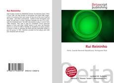 Bookcover of Rui Reininho