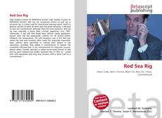 Bookcover of Red Sea Rig