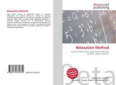 Bookcover of Relaxation Method